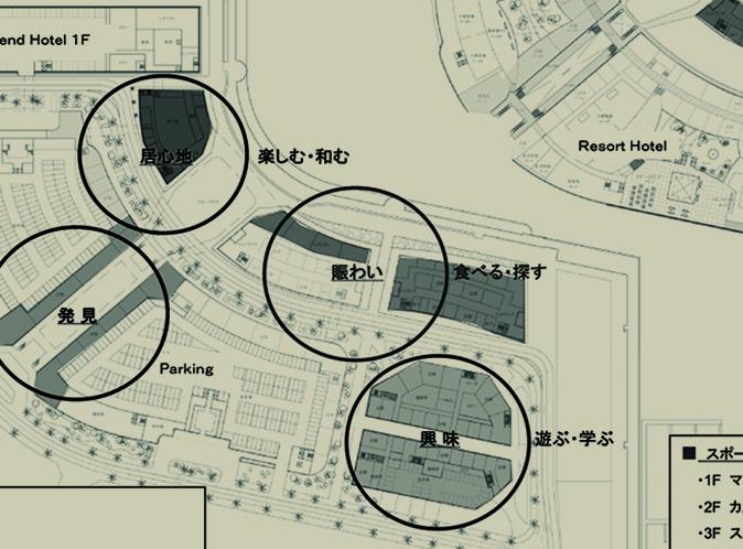 Participating a seaport resort development