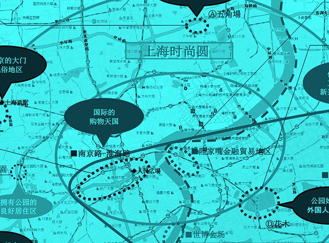 Plan proposition of T-blockdevelopment in Shanghai