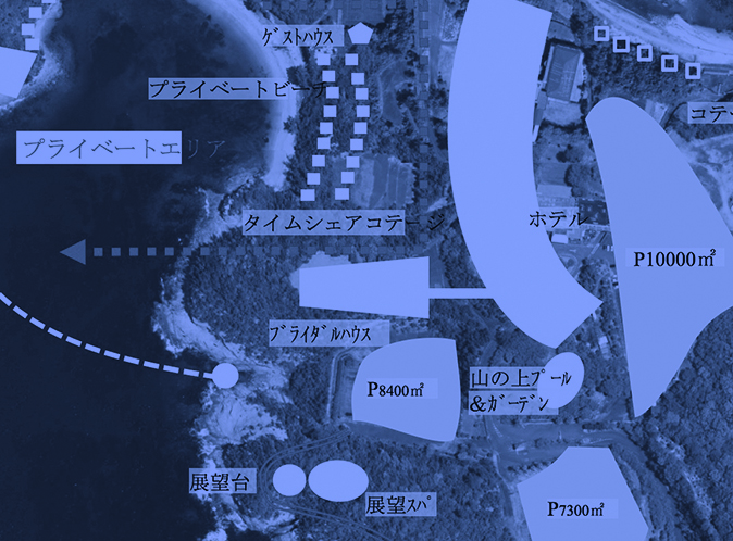 Plan proposition ofresort-type commercial facility