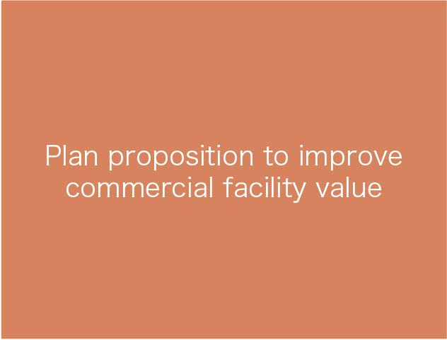 Plan proposition to improvecommercial facility value